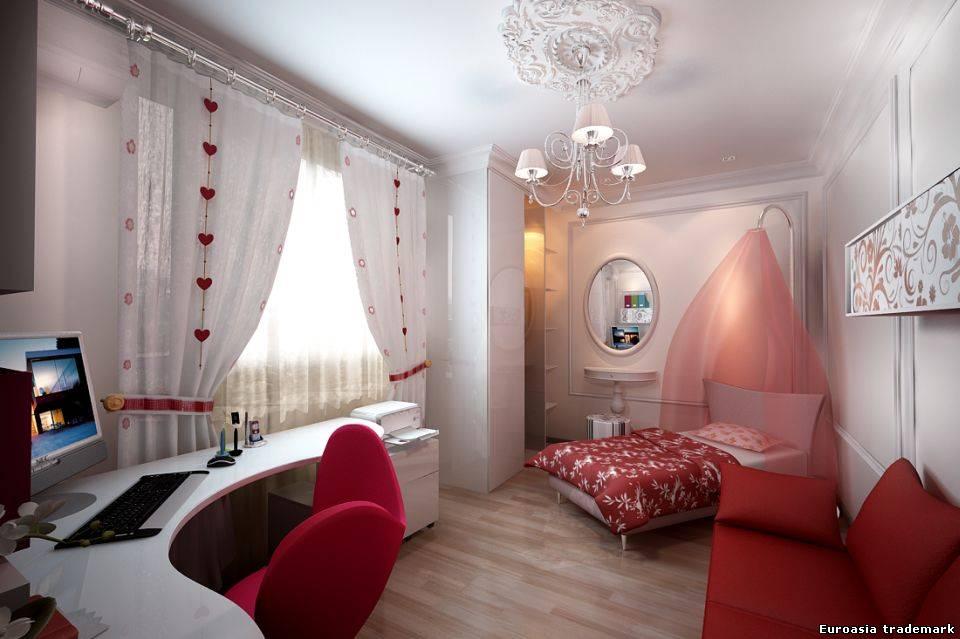 Фото дизайн комнаты девушки